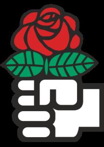 339px-Red_Rose_(Socialism).svg